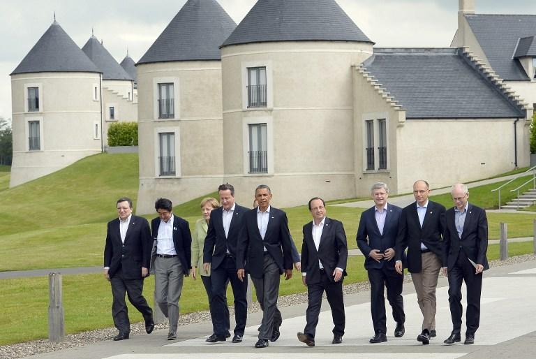 Лидеры стран G8 договорились не платить террористам за освобождение заложников