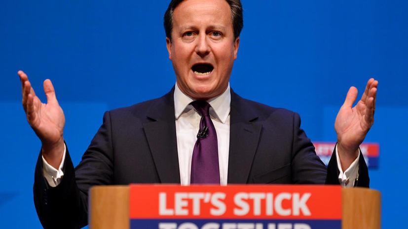 Кэмерон: В случае отделения от Великобритании шотландцы потеряют фунт стерлингов, армию и пенсии