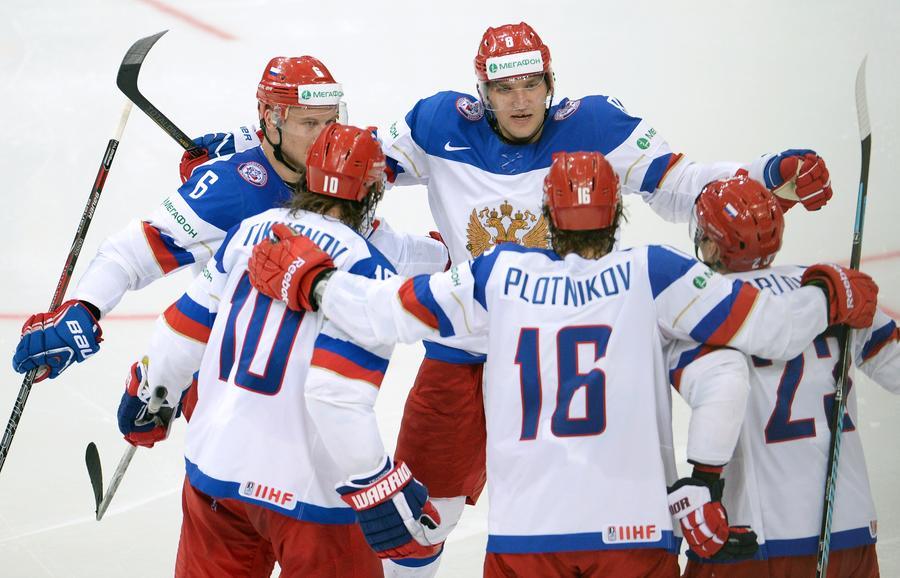 Сборная России по хоккею взяла реванш у американцев за скандальное поражение на Олимпиаде
