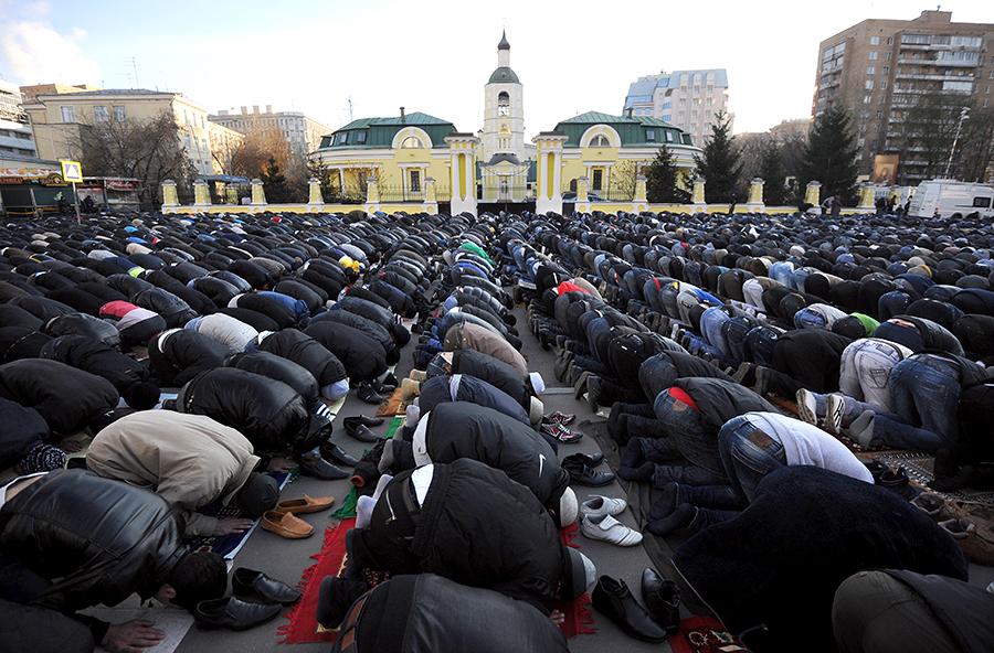 В Москве построят три новых мечети
