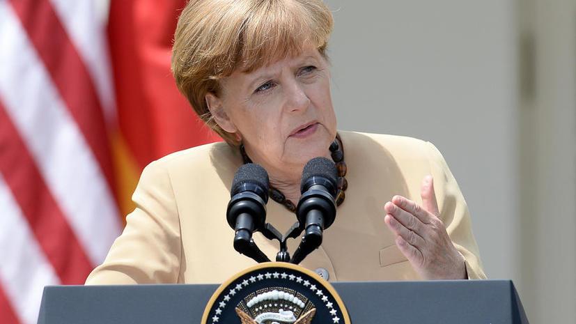 Ангела Меркель приветствовала содействие Москвы в освобождении военных наблюдателей на Украине
