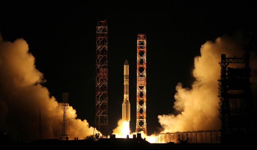 «Протон-М» со спутником «Астра-2Е» успешно стартовал с Байконура