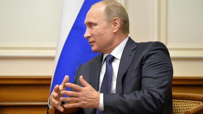 Владимир Путин: Не все минские договорённости выполняются, но ситуация позволяет надеяться на лучшее