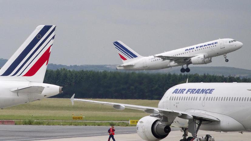 Шесть человек задержаны по подозрению в краже золота с борта самолета Air France