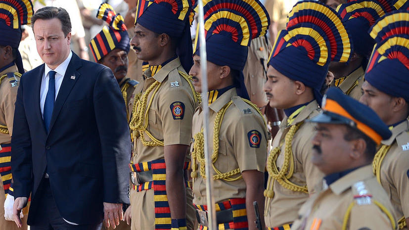 Дэвид Кэмерон пообещал Индии светлое экономическое будущее