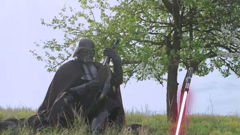 Американские СМИ: Дарт Вейдер обещает избирателям  защитить сало от врагов Украины