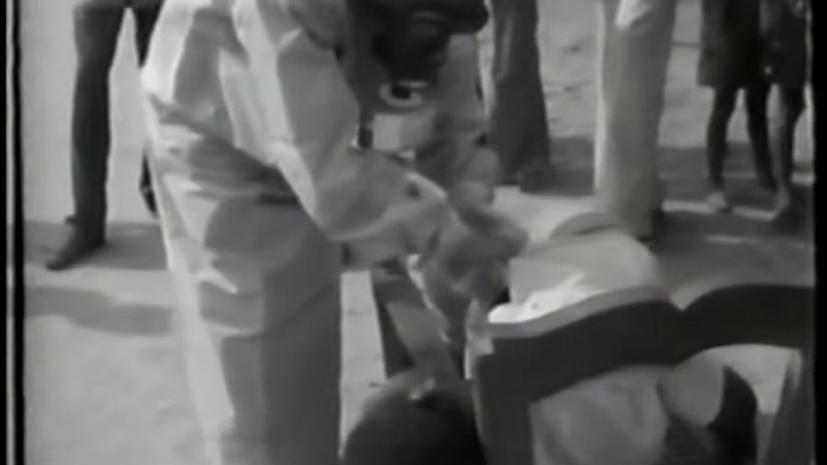 В Бельгии опубликованы кадры первого обследования больных вирусом Эбола в 1976 году