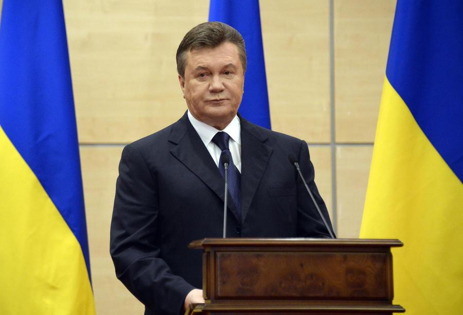 Янукович призвал провести референдум о статусе каждого региона в составе Украины