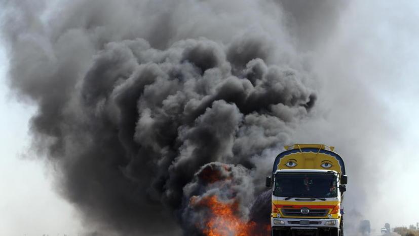 В Пакистане задержали огромную партию химикатов для изготовления бомб
