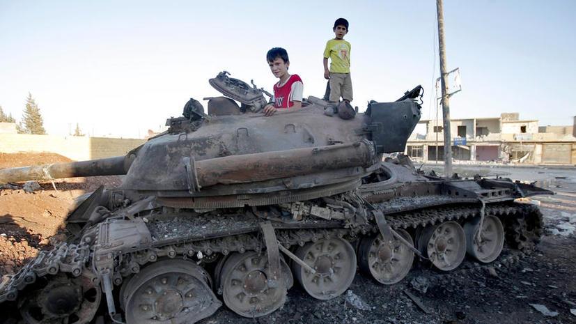 «Аль-Каида» показала в интернете детский тренировочный лагерь
