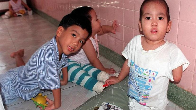 Жертвы Agent Orange: Вьетнамские дети до сих пор страдают от американского химического оружия