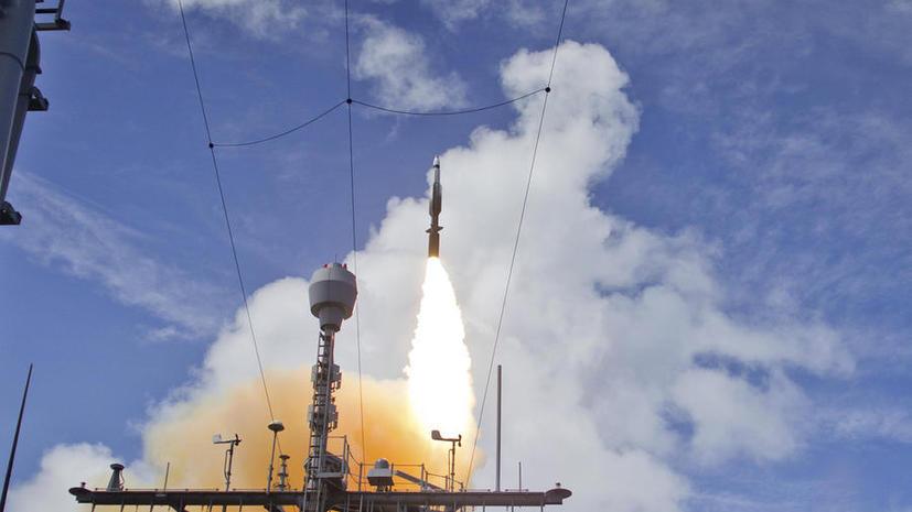 ВМС США провели первые испытания системы ПРО в Европе