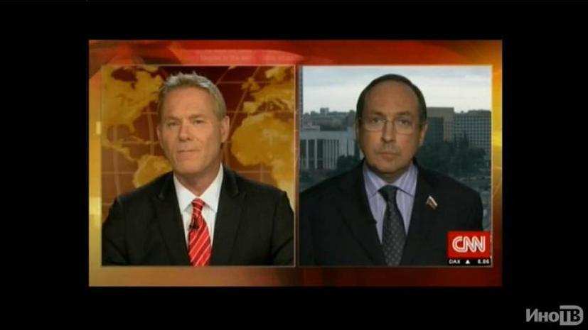 Российский депутат в прямом эфире CNN опроверг заявление о военном вторжении на Украину