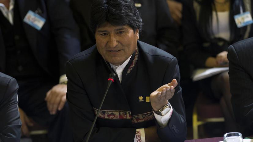 Эво Моралес: Спецслужбы США имеют доступ к электронной почте правительства Боливии