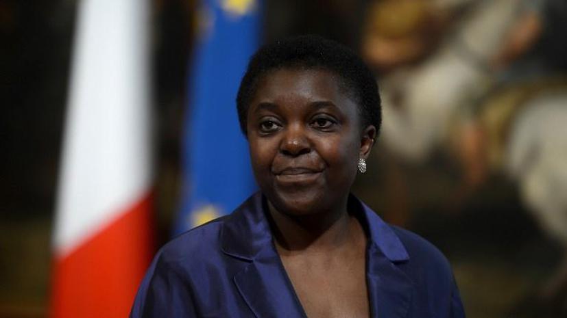 Секретарь президента Италии не смог прочитать фамилию первой чернокожей женщины-министра
