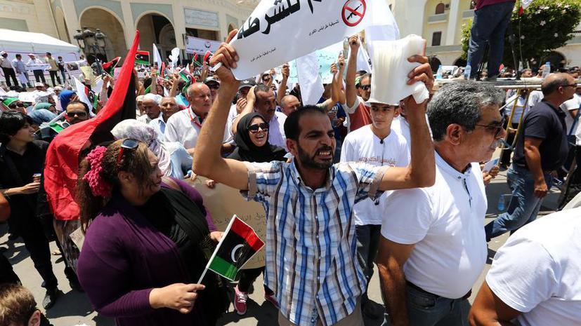 Ливийцы потребовали регулярную армию и полицию