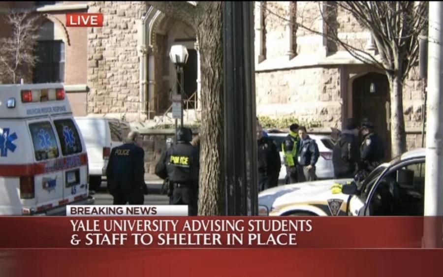 В кампусе Йельского университета объявлена тревога после сообщений о вооружённом человеке
