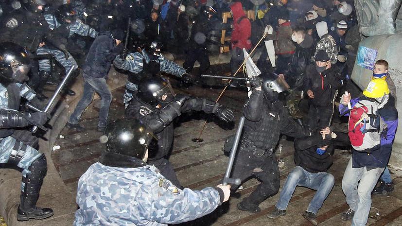 Данные о столкновениях силовиков и демонстрантов на Майдане будут обнародованы в понедельник 2 декабря