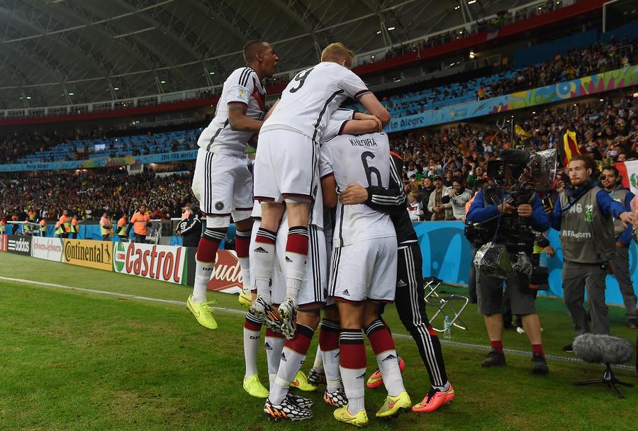 ЧМ-2014: победа Германии и возвращение алжирского лазера