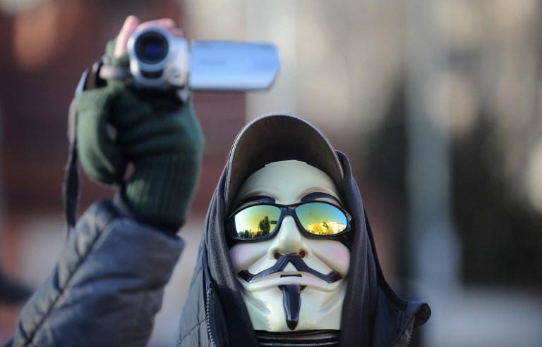 Анонимус объявили войну сирийскому правительству