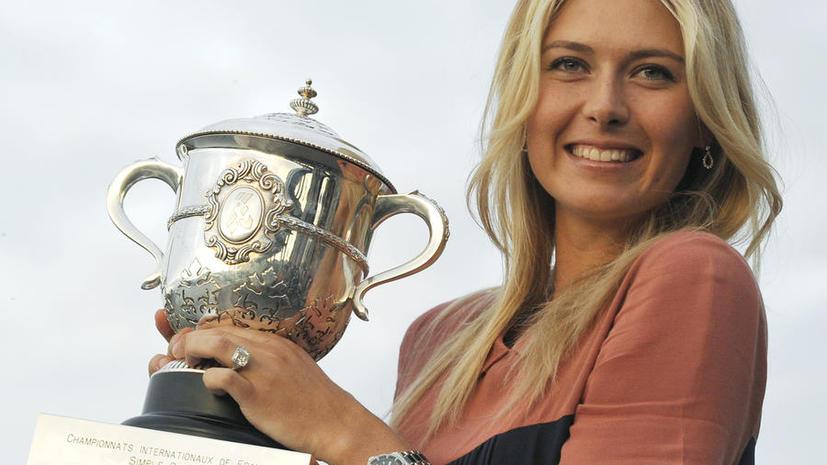 Мария Шарапова возглавила рейтинг самых богатых спортсменок планеты