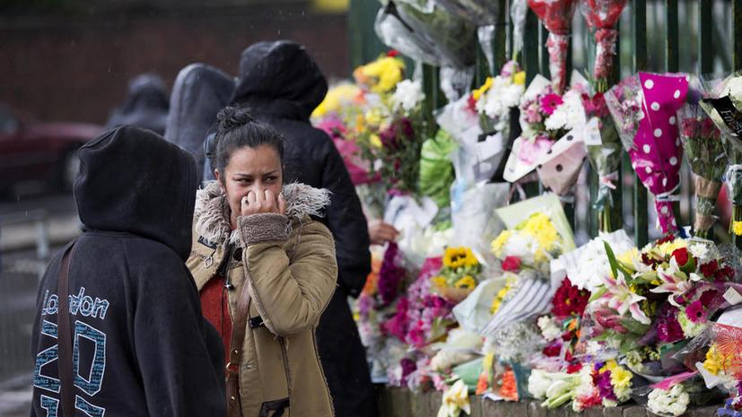 В Британии задержали ещё трёх подозреваемых по делу о зверском убийстве солдата