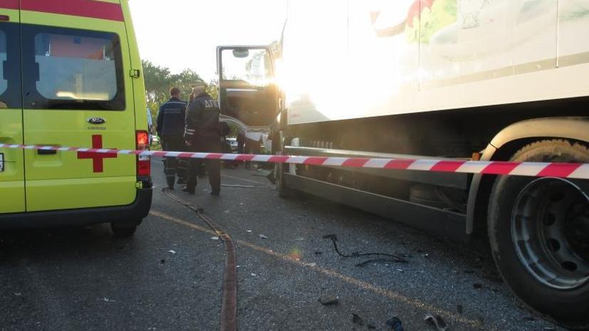 Три человека погибли, 17 пострадали в результате ДТП автобуса с детьми в Нижегородской области