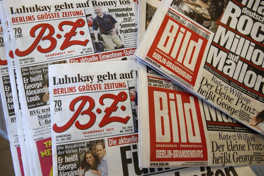 В Германии началась кампания против освещения газетой Bild трагедии Airbus A320