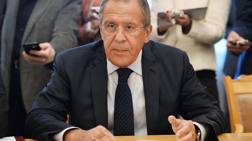 Сергей Лавров: Россия будет продолжать оказывать помощь правительству Сирии в борьбе с терроризмом