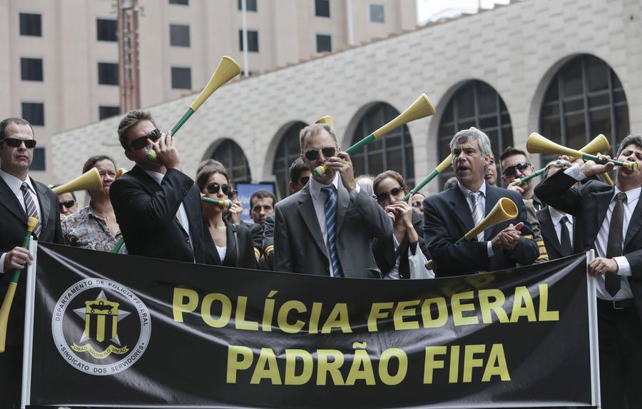 Федеральная полиция Бразилии объявила двухдневную забастовку