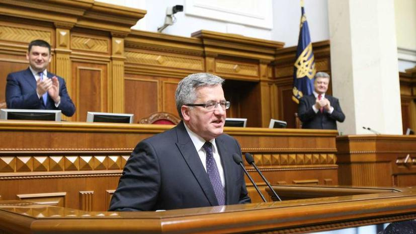 «Пощёчина всем полякам»: польские политики раскритиковали украинский закон о героизации УПА