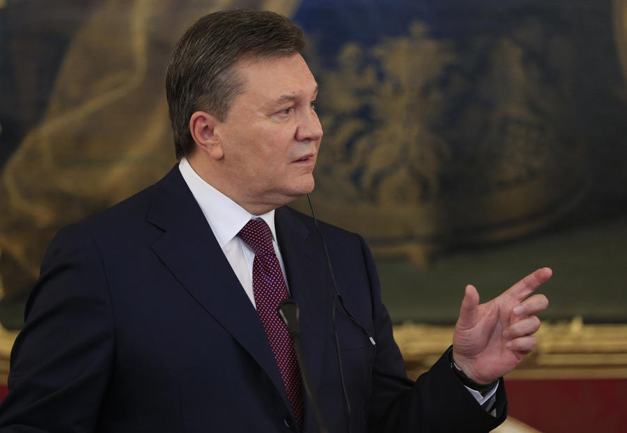 Виктор Янукович: Мы хотим достичь лучших условий в соглашении с ЕС