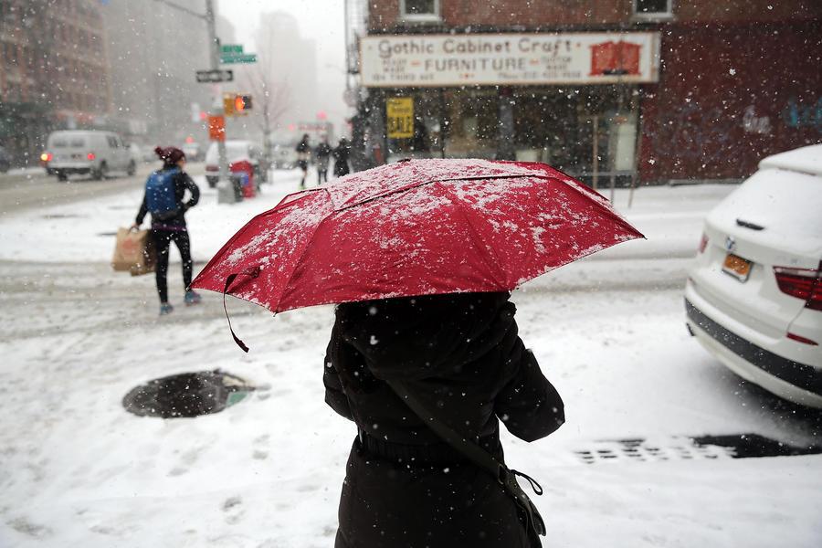 Снегопады могут лишить американских школьников полноценных каникул