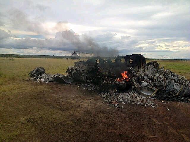 ВВС Венесуэлы сбили мексиканский самолёт