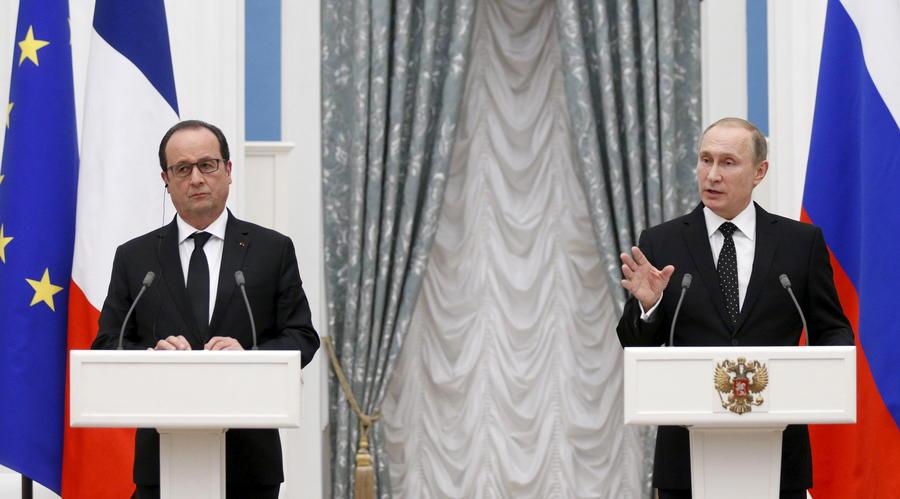 Американские СМИ: Владимир Путин сменяет США на лидерских позициях в Европе и на Ближнем Востоке