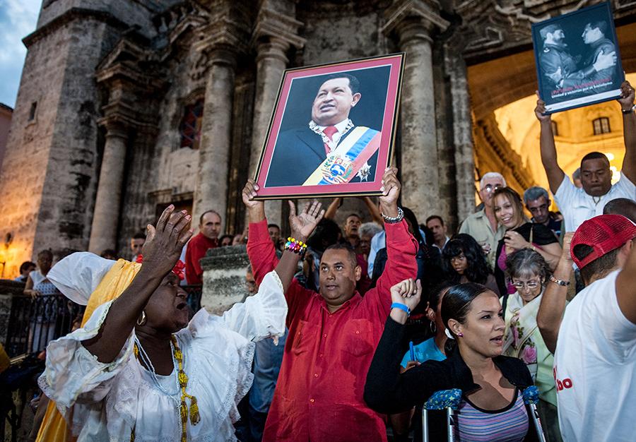 Уго Чавес идет на поправку