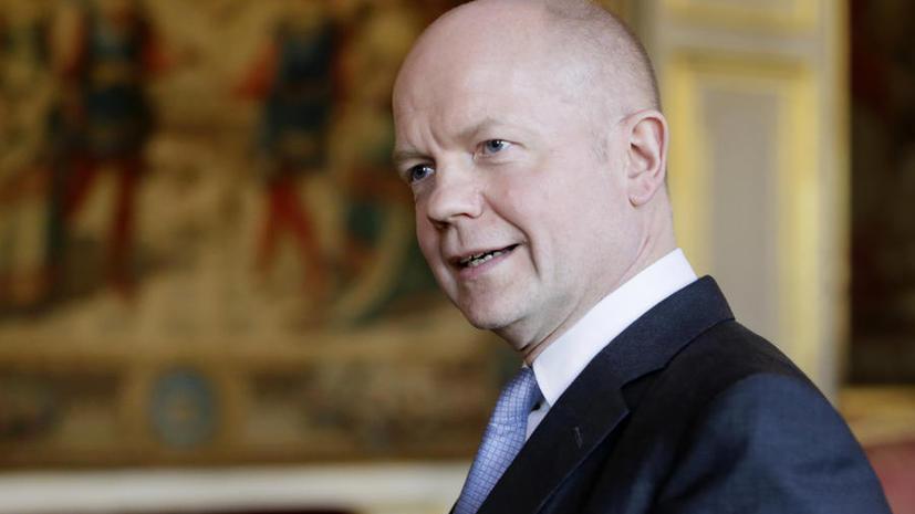 Уильям Хейг: Великобритании следует ограничить сотрудничество с Россией