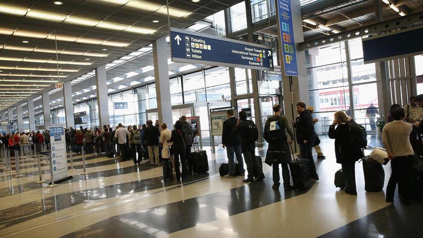 500 авиарейсов отменили в Чикаго из-за непогоды