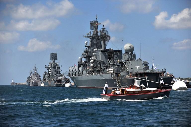 Россия направила флот к берегам сектора Газа