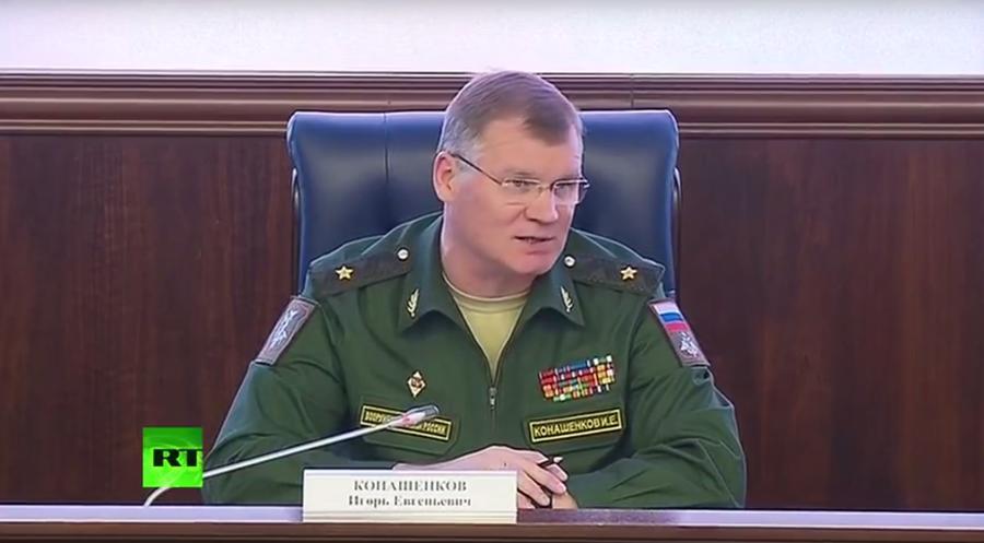 Игорь Конашенков об операции ВКС РФ в Сирии: Западные СМИ не глядя публикуют фальшивки