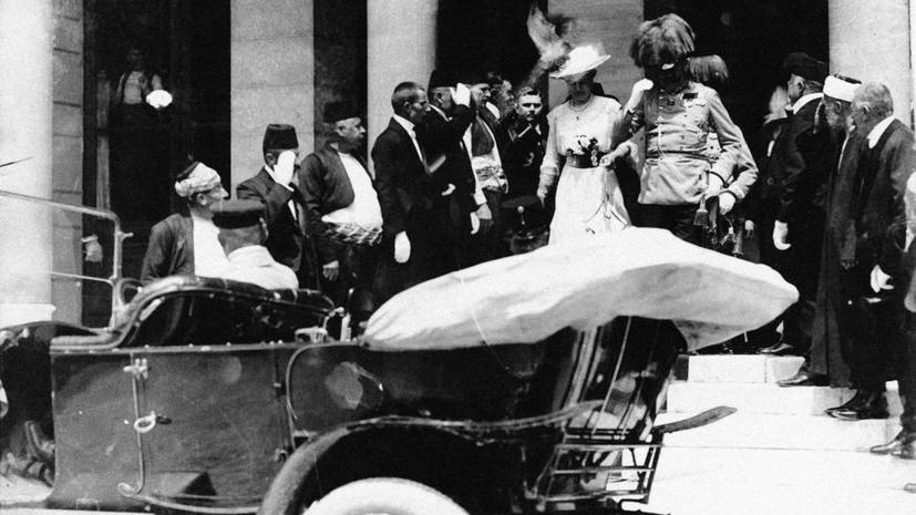 Сто лет назад в Сараево был убит эрцгерцог Франц Фердинанд