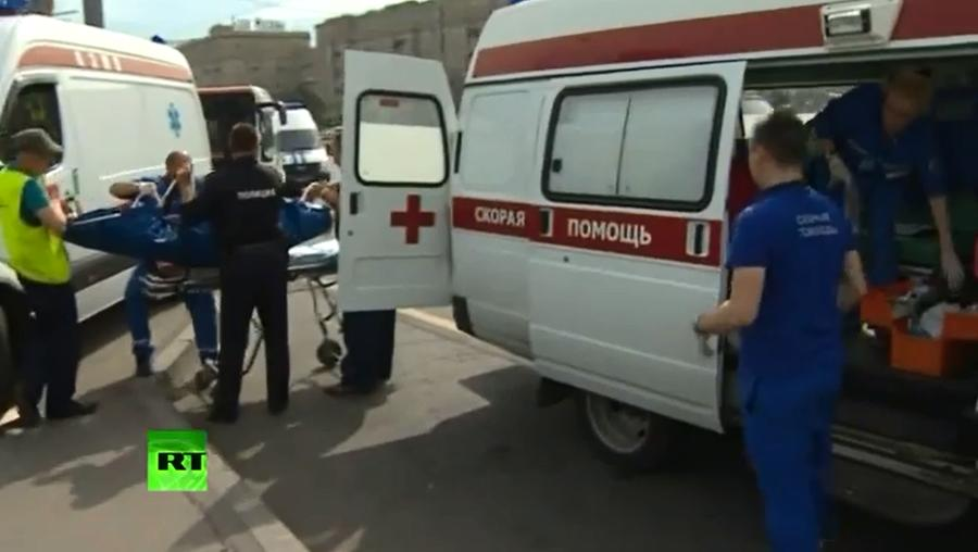 В больнице скончался пострадавший от аварии на «синей» ветке метро в Москве