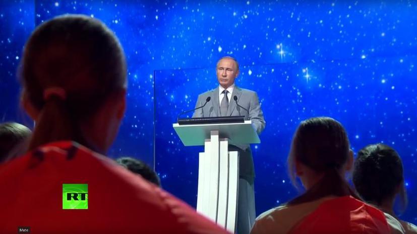 Владимир Путин: Вера в свои силы — секрет успеха