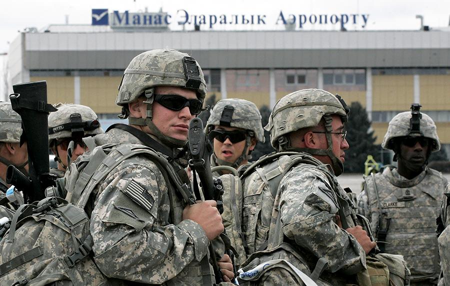 Американцы покинут базу «Манас» через полтора года