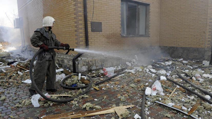 СК РФ: Обстрелом школы в Донецке руководили командиры вооружённых сил Украины