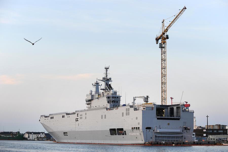 Эксперты: Срыв поставок «Мистралей» нанесёт ущерб Франции и принесёт выгоду России