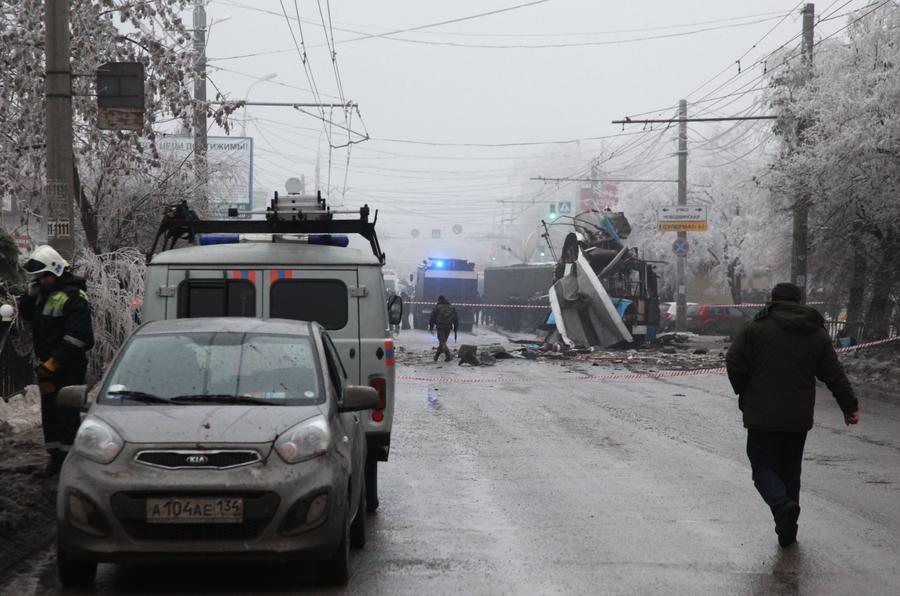 СК: Взрыв в волгоградском троллейбусе устроил террорист-смертник