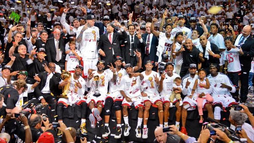 «Майами» второй год подряд стал чемпионом НБА