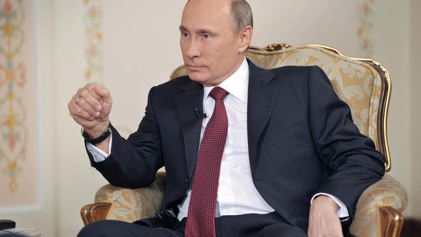 Дмитрий Песков: Путин с иронией отнесся к внесению его имени в «черный список»