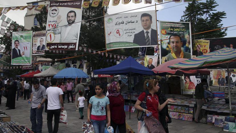 В Ираке начались парламентские выборы